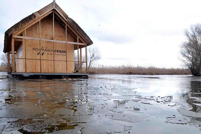 Un accès à l'eau pour les pêcheurs du Danube