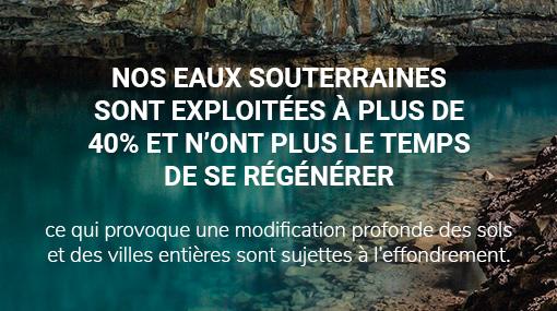 eaux souterraines surexploitées