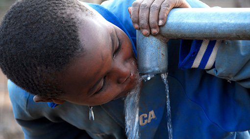 accès à l'eau potable - potabilisation - filtration eau douce