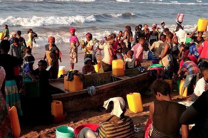 Lutter contre le choléra en RDC