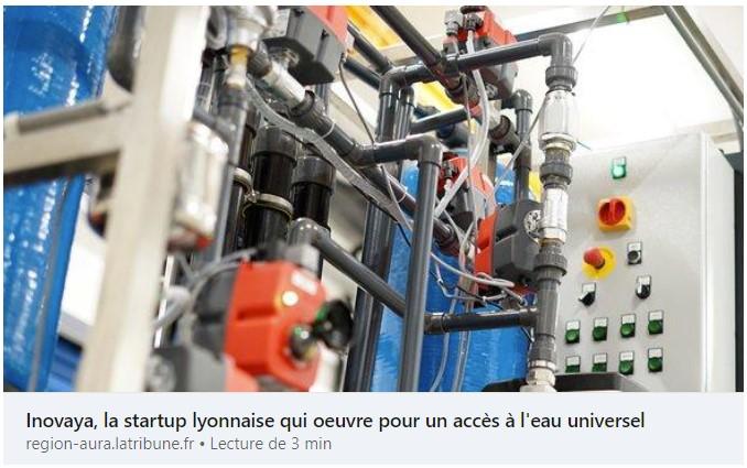 la tribune aura - lyon métropole - innovation - eau